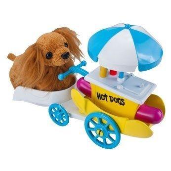 Zhu Zhu Mascotas Cachorrito perro Peluche Empujar - Carrito de Hot Dogs: Amazon.es: Juguetes y juegos