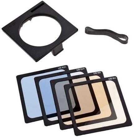 Lee Filters Fine Color Temperature 4x4 Filter Set w// Gelsnap Holder