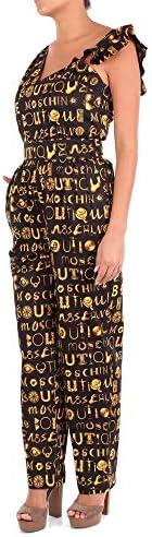 Boutique Moschino Luxury Fashion Damen A04268521555 Schwarz Overall   Jahreszeit Outlet
