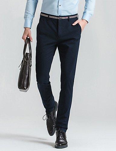 YYNANKU TT/&Mens Pants Pantaloni da Uomo Micro-Elastici Normali da Uomo Fibra di bamb/ù Vintage in Cotone Solido 36 Acrilico Estivo
