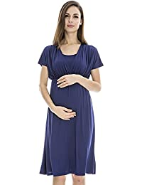 Bearsland Women's Breastfeeding and Nursing Summer T-shirt High-waist