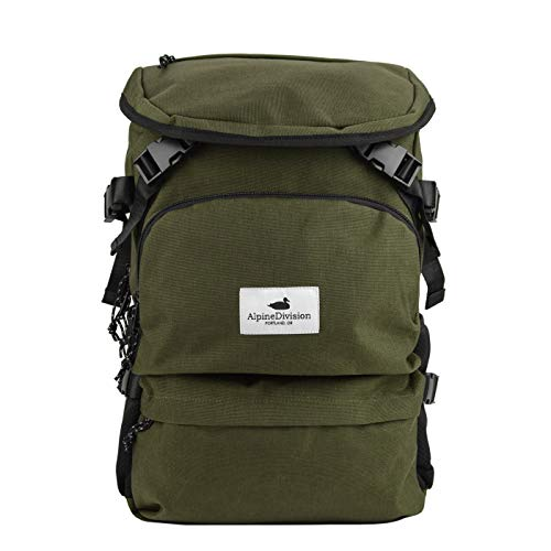 Alpine Division Timberline Laptop Backpack - Forest - Alpine Rucksack