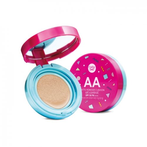 6 g. Cathy Doll AA Matte Powder Cushion Oil Control SPF 50 PA+++#23 Natural Beige by jawnoy (Matt Oil Touch Foundation)
