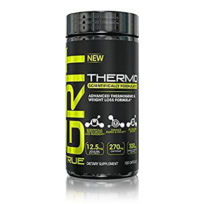True GRIT Thermo Thermogenic & Weight Loss, 120 Capsules