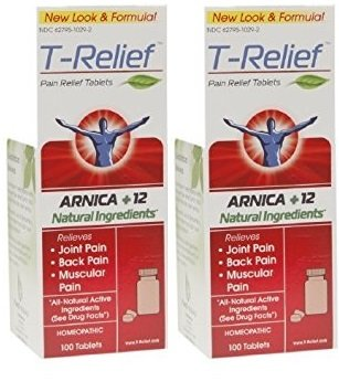 T-relief Pain Relief 100 Tablets (2 Pack)
