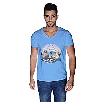 Creo Palestine T-Shirt For Men - S, Blue