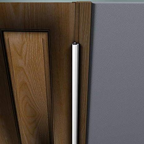 Protector de jambas para puerta con bisagra de 2032 mm, color negro: Amazon.es: Bebé