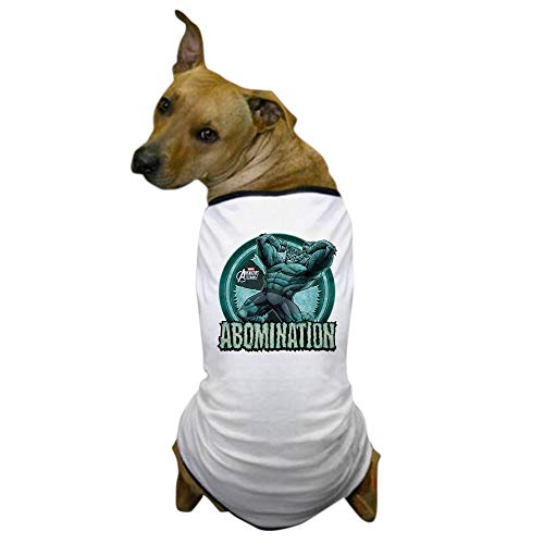CafePress Abomination Dog T Shirt Dog T-Shirt, Pet Clothing, Funny Dog Costume -