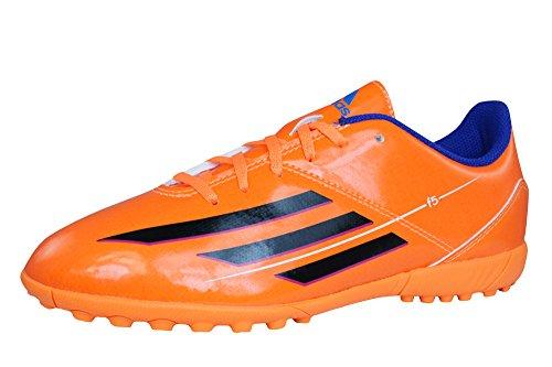 adidas F5 TRX TF J Boys Soccer Sneakers / Boots-Orange-4