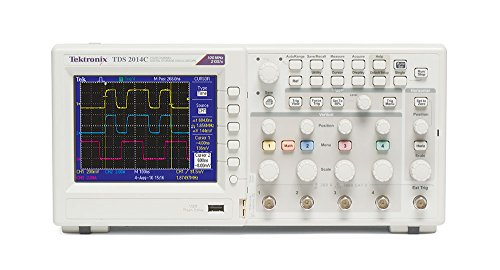 Tektronix TDS2014C 100 MHz, 4 Channel, Analog Oscilloscope, 2 GS/s Sampling,