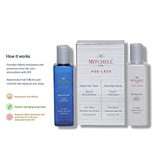 Mitchell USA Day & Night Hair Tonic – Reduces Hair Fall & Maintains Hair Growth (100ml + 100ml)