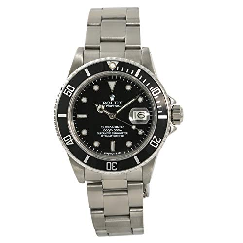 Rolex Submariner Automatic-self-Wind Male Watch 16800 (Certified Pre-Owned)