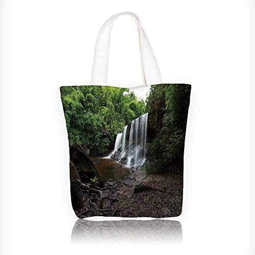 Canvas Shoulder Hand Bag Landscape of Guilin,Li River and Karst mountains Located near Yangshuo County Tote Bag for Women Large Work tote Bag Shoulder Travel Totes Beach Bag W11xH11xD3 INCH