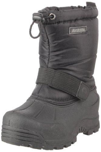 [Northside Frosty Snow Boot (Toddler/Little Kid/Big Kid),Black,13 M US Little Kid] (Boots For Boys)