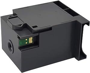 NO-OEM T6712 Ink Maintenance Tank Box for Workforce Pro WF-8593 WF-6593WF-6090 WF-6590 WF-8090 WF-8590 WF-R8593 Network Multifunction Color Printer