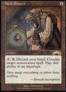 (Magic: the Gathering - Null Brooch - Exodus)