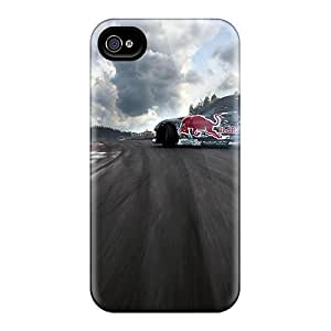 6 Scratch-proof Protection Cases Covers For Iphone/ Hot New Redbull Monster Drift Show Phone Cases