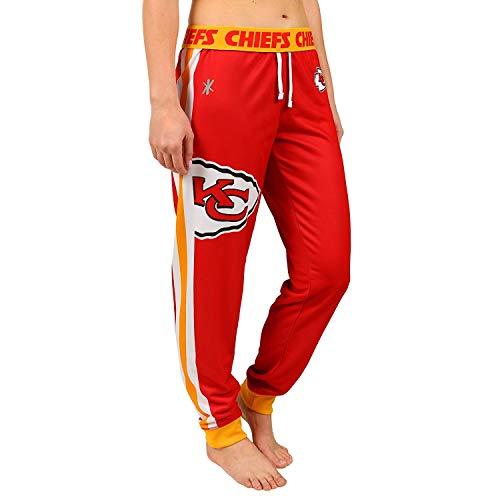 Kansas City Chiefs NFL Womens Cuffed Jogger - Kansas Chiefs Pajamas City