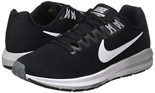 001 W Structure White Nero Zoom Air Running Cool Grey 21 Nike Scarpe Wolf Donna black HwB6Zd6q