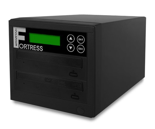 Spartan Pro 1 Target Fortress DVD/CD Disc Duplicator with DiscLock Copy Protection D01-SSPDLPRO (Built-In 250GB Hard Drive and USB)