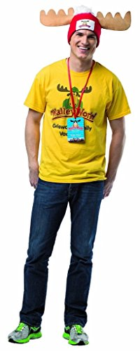 Rasta Imposta Men's National Lampoon's Vacation Walley World Costume Kit, Multi, One (National Fancy Dress Costumes)