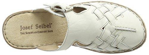 Josef Seibel Francesca 11 - Zuecos Mujer Blanco - Blanc Cassé (95 910 Offwhite)
