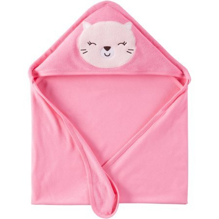 Hooded Towel Pink Kitty - 3