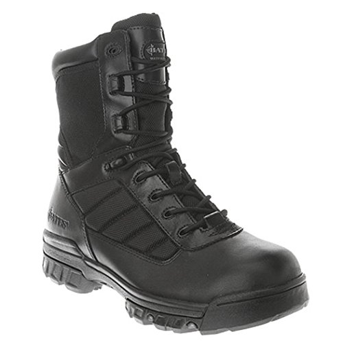 Bates Men's 8 Inches Water Resistant Tactical Work Boot,Blac