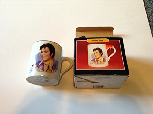 Teddy Ceramic Collectible (Elvis Presley Ceramic Mug with Box Teddy Bear)