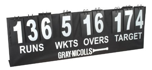 Gray Nicolls Official Cricket Team Sports Accessories Portable Cricket Scoreboard by Gray-Nicolls by Gray-Nicolls
