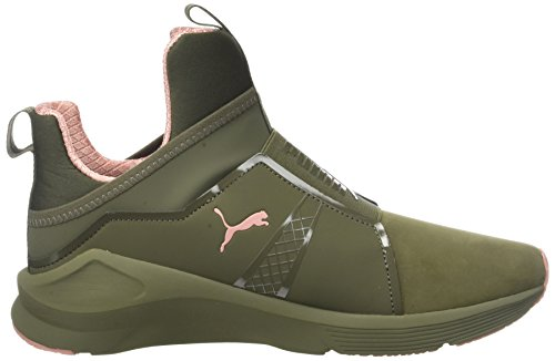 Zapatillas Fierce Naturals cameo Puma Deportivas Interior Night Mujer Nbk Marrón olive Brown Para dqpdt