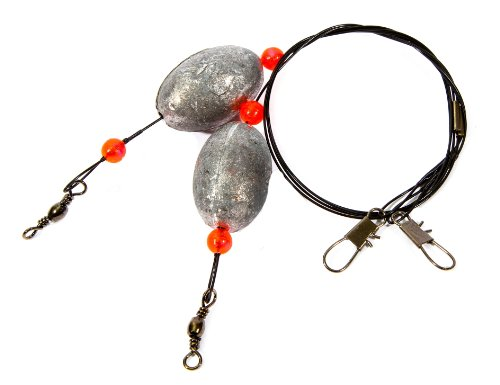 Boone Egg Rigs, 2-Ounce (Flounder Fishing Rigs)