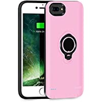 QueenAcc 3700mAh Battery Charging Case Compatible with...