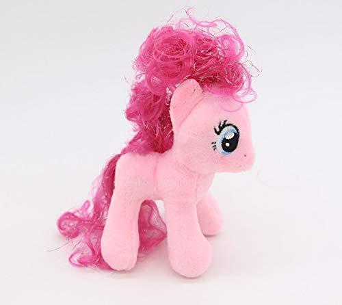 Costop Rainbow Dash & Pinkie Pie & Rarity Keychain | Unicorn Stuffed & Plush Animals Toys | Hobbies 12cm from Costop
