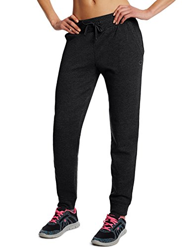 Champion Women's Fleece Jogger, Black, Small M0937