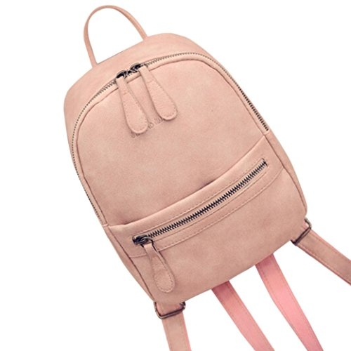 Promotion Shoulder Bookbags,Rakkiss School Bag Satchel Travel Leather Backpack Women Girl Rucksack Backpacks Travel Bag -