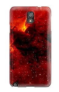 Durable Defender Case For Galaxy Note 3 Tpu Cover(nebula)