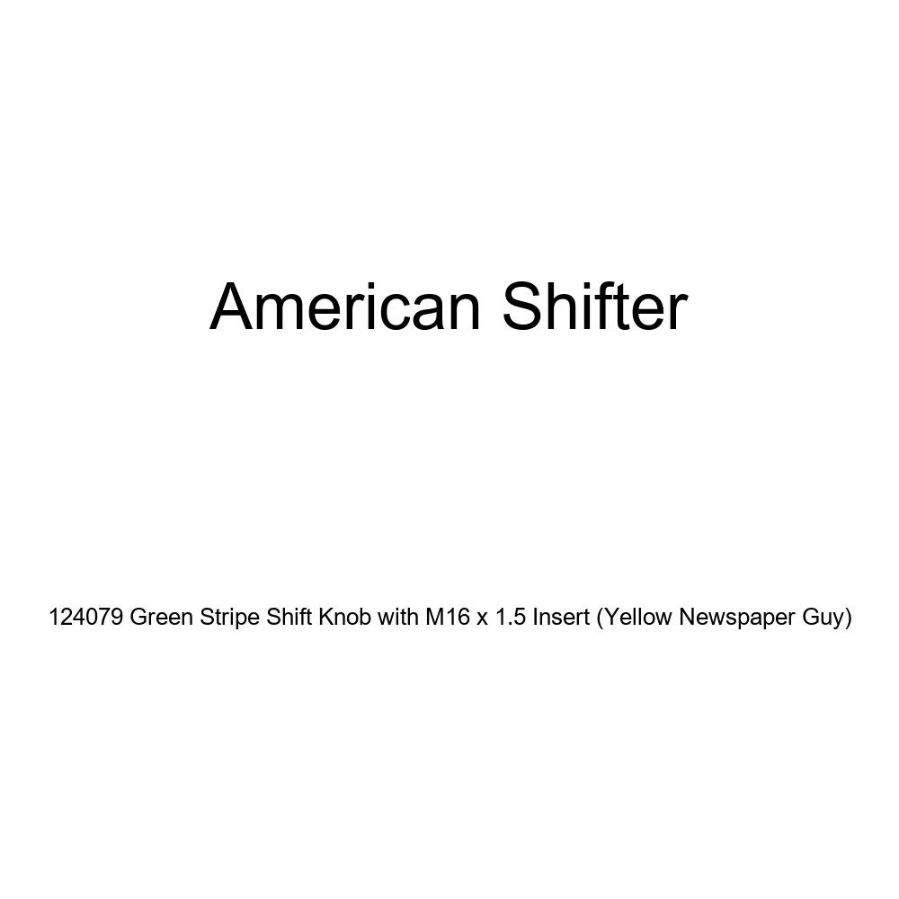 American Shifter 116134 Red Stripe Shift Knob with M16 x 1.5 Insert Black Drumsticks Clenched