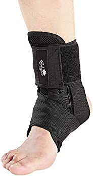 Ankle Brace for Women and Men, Lace Up Ankle Support Brace Stabilizer for Sprained Ankle