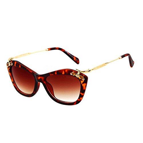 Dunhill Model (KaiSasi Big Fashion Elegant Womens Five-Pointed Star Explosion Models Sunglasses Sunglasses(C6))
