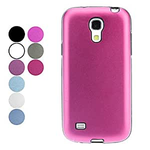 Simple Style Solid Color Hard Case for Samsung Galaxy S4 Mini I9190 (Assorted Colors) , Purple