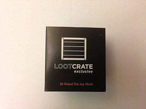 Loot Crate Exclusive 20 Sided Die Ice Mold April 2016