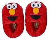 Sesame Street Elmo Slippers, Easy Slip On Plush