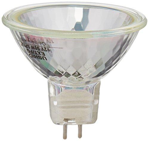 Ushio MR16 Eurostar 50 Watt 12 Volt Narrow Spot Covered Halogen Bulb