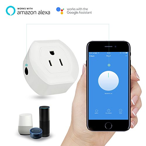 Martin Jerry Mini Wifi Smart Plug Works with Alexa, Google Home, Smart Home Devices to Control Home Appliance from Anywhere, no Hub Required, Wifi Smart Socket (V04) (1 Pack) by Martin Jerry (Image #3)