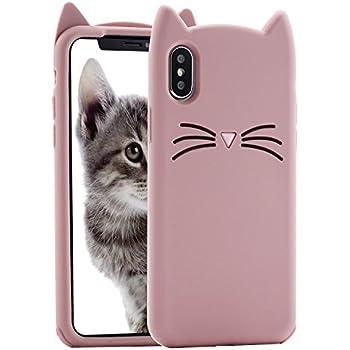 Amazon.com: Cat iPhone X Case, Miniko(TM) Cute Kawaii