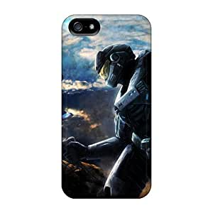CuxBiqY4981vlhID LisaMichelle Awesome Case Cover Compatible With Iphone 5/5s - Halo Reach