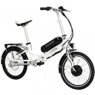 TUCANO EOS - Bicicleta eléctrica deportiva (Motor 250W - 36V) - Color blanco,
