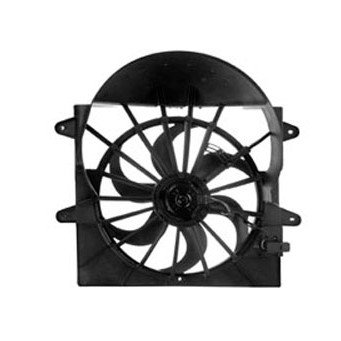 - Radiator Cooling Fan Assembly With Resistor for 06-10 Commander Grand Cherokee