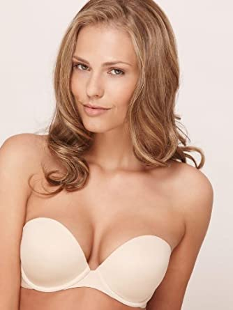a801948455 La Senza Multiway Strapless Air Boost Bra Nude air bra - Size  40 C -  Color  nude  Amazon.co.uk  Clothing